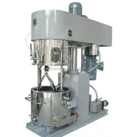planetary dissolver mixer for plastic cement
