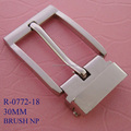 Nickel free wholesale men alloy metal belt clip buckle jean's pin buckle for garment accessory