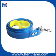 Cold Resistant Double color Dog Leash with Metal Mesh