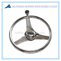 Stainless steel steering wheel