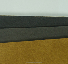 Great handfeel 1.4mm composition pu leather for shoes/handbag/sofa