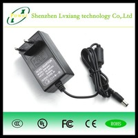 High Efficiency Wall-mount Type 30W 15V 2A AC/DC Power Adapter with EU UL UK AU Plug