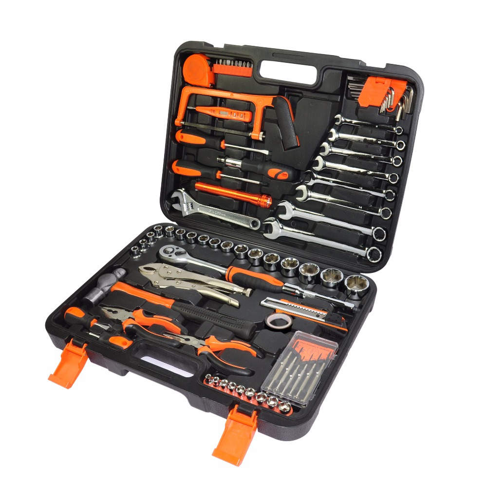 CROWNRICH 78PCS car repair tool/set automobile workshop tool set