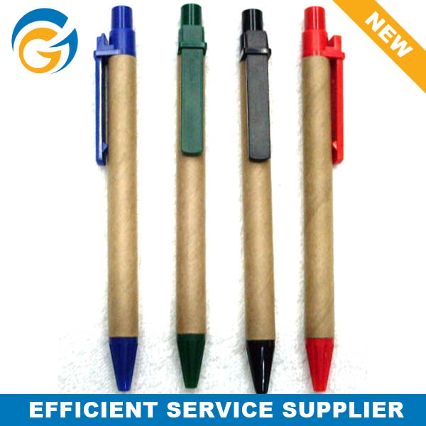 Recycled Paper Plastic Ball Pen
