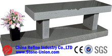 Granite bench in tombstones and monuments,granite bench headstone