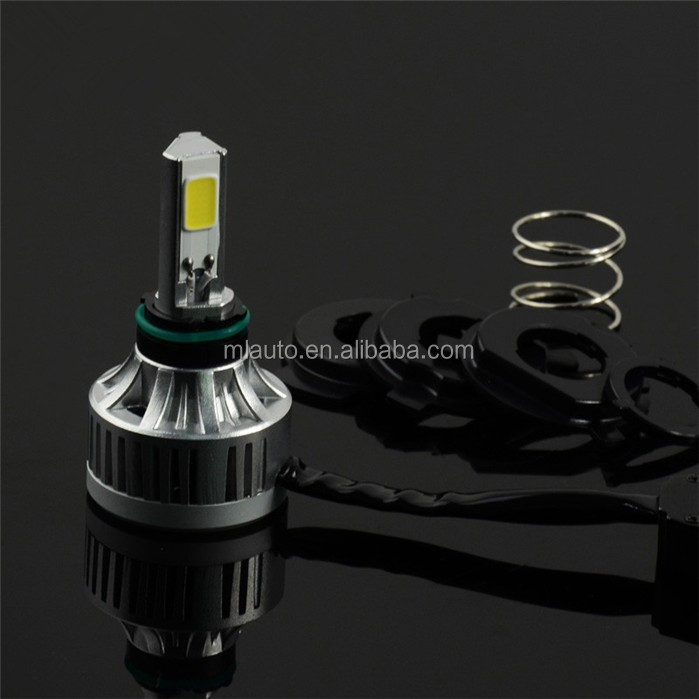 32W 3000lm bike high power headlight bulb M3 plus dual beam led motorcycle front headlight socket