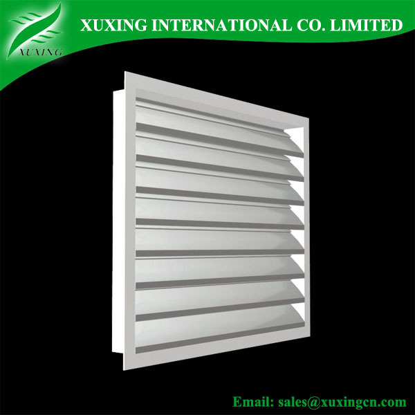 Ventilation wall air conditioner grille exhaust air grille