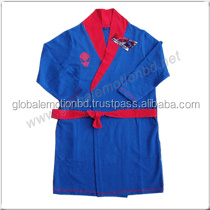 CHILDREN BATHROBES, HIGH QUALITY FRENCH TERRY KIDS COMFORTABLE BATHROBE