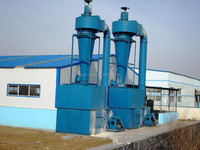 Cyclone dust collector for dust removal machine