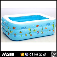 Hot Popular Indoor Portable Swimming Pool Inflatable Safety kids Plastic Swimming Pool