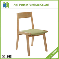 Offer good service unadjustable wood chair for dining room(Daniel)