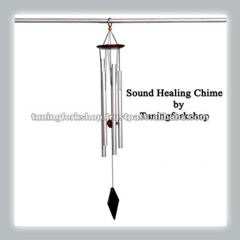 528 Tuned Wind Chimes Thin pipes