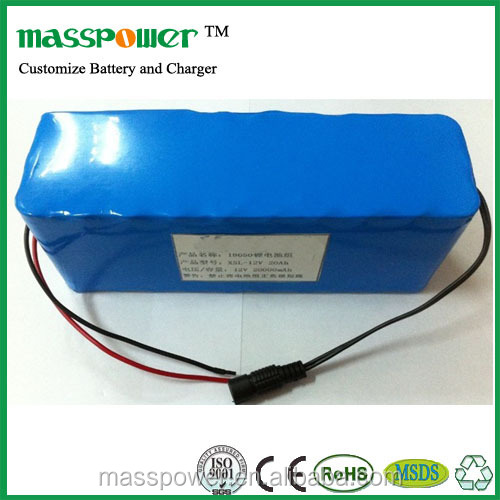 lifepo4 rechargeable battery pack 12v 20ah