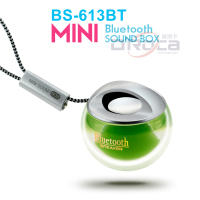 BS613 crystal plastic speaker with Bluetooth 3.5mm audio input