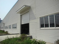 low slope prefabricated commercial building