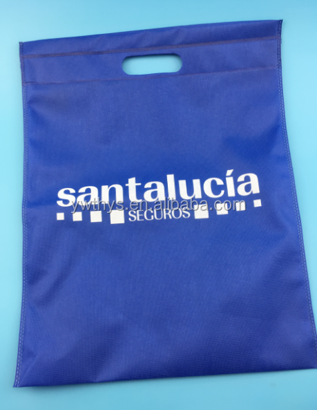 logo printing promotion nonwoven carry bag non woven shopping bag