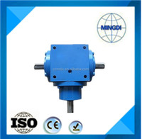 T series gearbox / gear transmission parts with electric motor forcrushing machine