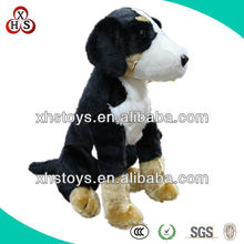 cute black plush dog toy with long legs
