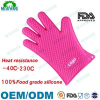 Direct buy from manufacturer sell silicone massage glove