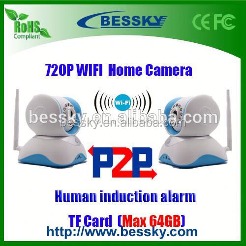 wifi 2p2 wireless 2mp ip camera,touch screen,made in korea mobile phone