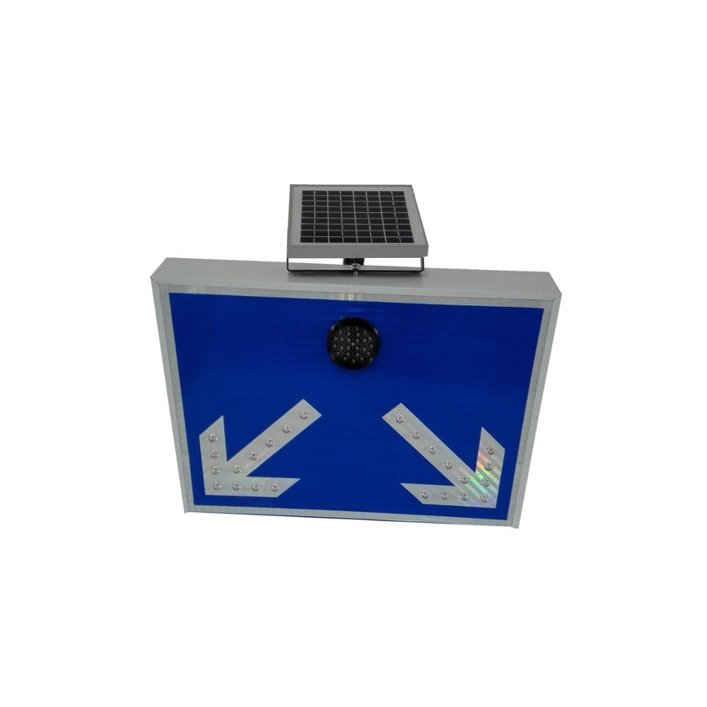 New street signs arabic safety signs aluminum led sign