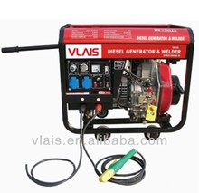 Portable Open Type Diesel Welder Generator With JY186FAE Engine, 5.5kw Open-frame Diesel Welder Generator Guangzhou Manufacturer