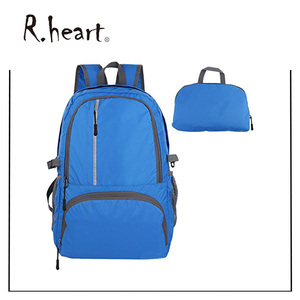 R.heart Ultralight Foldable Daypack Packable Backpack 30L, Durable Hiking Backpack Travel Backpack