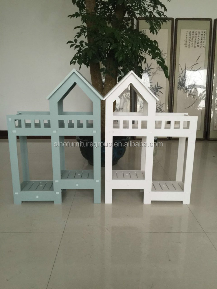 waterproof outdoor wood flower stand