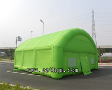 outdoor giant inflatable green tent ,inflatable medical tent
