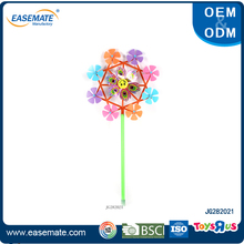Novelty kids toy garden decorative small plastic windmills