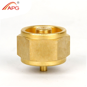 APG Weld Brass Mapp Gas Connection Adapter Pipe End Caps