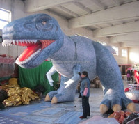 2015 high quality inflatable green dragon for events/advertising