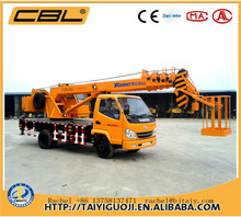 CBL-10 10t hydrualic quality hydra crane for sale in india