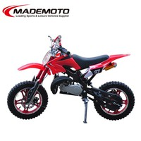 China new model Cheap gas-powered mini dirt bike for sale 50cc