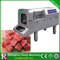 Cooked beef slicing machine|Food industrial pig ears cutting machine
