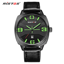 Ristos own brand watch low MOQ guangzhou watches at alibaba stock price sport watches men