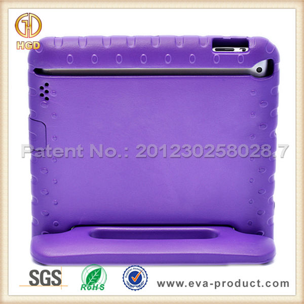 Kiddie EVA LightWeight ShockProof cover case for Apple iPad for kids toddles in school/family