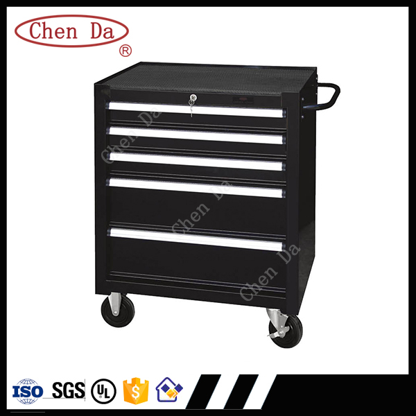 professional industrial site tool box tool cabinet with tools and handle