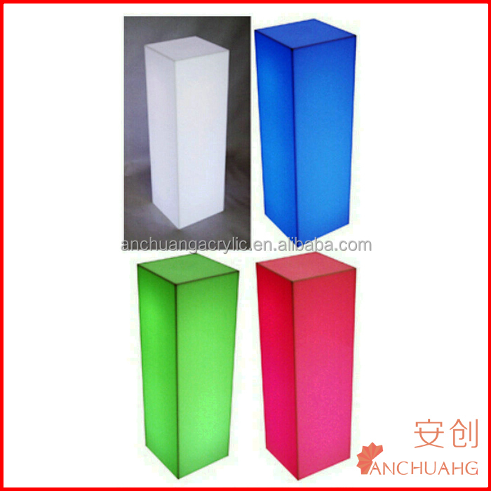 fiberglass columns for wedding decorating