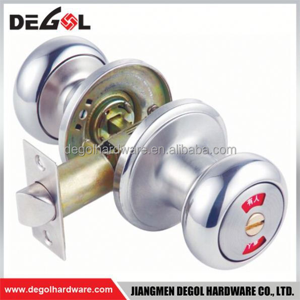Top quality zinc alloy interior tubular export knob lock