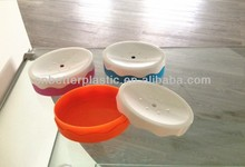 2014 hot sale plastic soap dish rubber painting surface A9150 from factory