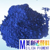 environmental protection economic type refinish metallic paint pigment blue