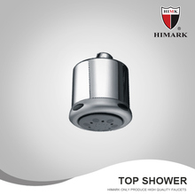 ABS plastic water saving low pressure shower head
