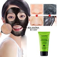 Top Quality Herb Active Carbon Charcoal Peel Off Blackhead Removal Face Mask Free Pore Peel off Mask