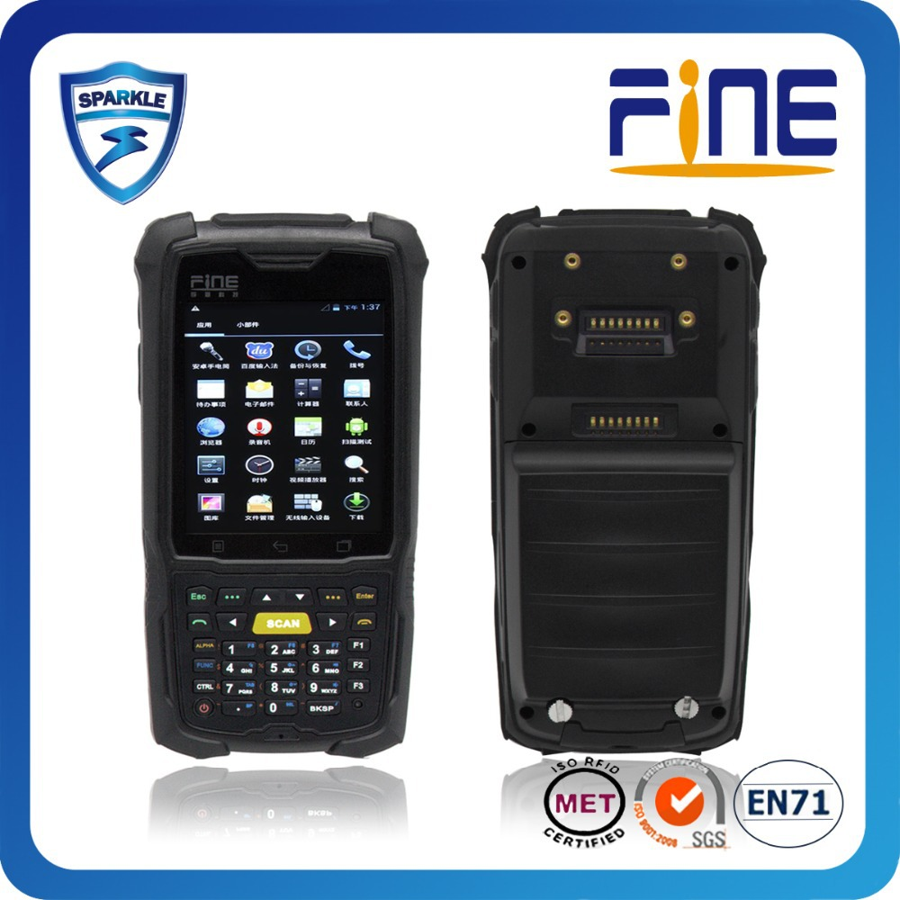 wince/android 4.0 WIFI GPS RFID PDA for library inventory