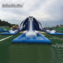 Commercial Giant Inflatable Trippo Water Slide For Adult