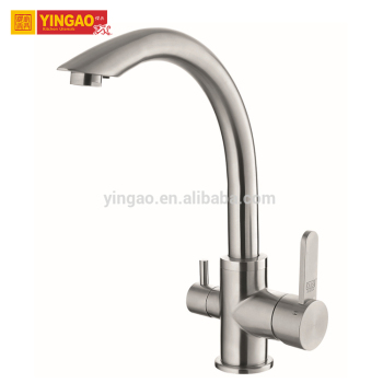 Contemporary instant heating water single handle wall mounted kitchen faucet