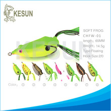 Frog lures factory direct selling fishing lure hollow body frog bait