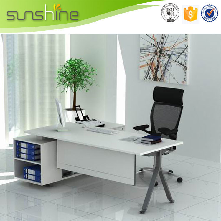 commercial modern white office desk executive table