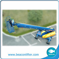 16m aerial articulated boom lift pickup truck boom lift